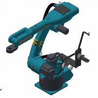 Buy cheap 1.1kw-12.5kw 6 Dof Robotic Arm Material Handling Robots Customized Mechanical from wholesalers