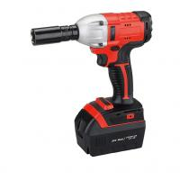 Buy cheap High Torque Battery Operated Impact Wrench / Powerful Cordless Impact Wrench For Automotive from wholesalers