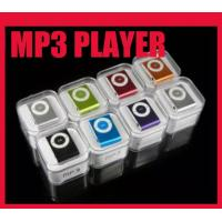 Buy cheap DHL Free mini Clip mp3 player support micro sd card with Gift box+earphone+usb from wholesalers