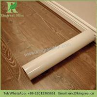 Buy cheap 0.03mm-0.20mm Thickness Clear Transparent Self Adhesive Hardwood Floor Protection Film from wholesalers