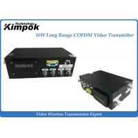 Buy cheap 150KM LOS Long Range Digital Transmitter 2.4GHz AV Wireless Transmitter 15Mbps from wholesalers