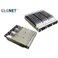 Buy cheap 100G Ethernet SFP Cage Assembly 3 Port In 1 Row Low Power Consumption from wholesalers