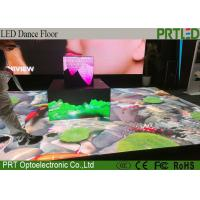 Buy cheap Waterproof Portable LED Dance Floor P4.81 Interactive LED Floor For Wedding Events from wholesalers