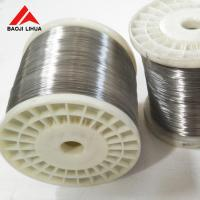 Buy cheap 0.8mm 1mm Pure Titanium Wire Coil Straight AWS A5.16 Machined Finish from wholesalers
