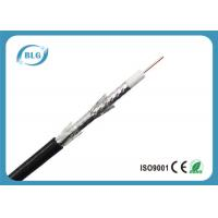 Buy cheap Tri Shield Digital Flexible Coaxial Cable For TV Foam Polyethylene Insulation from wholesalers