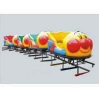 Buy cheap Durable Big Capacity Ride On Toy Train With Tracks Galvanized Iron Pipe + LLDPE from wholesalers