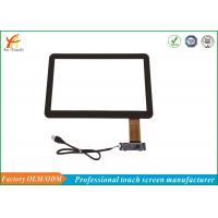 Black Border 14 Inch POS Touch Panel Capacitive Multifunction With USB Connector