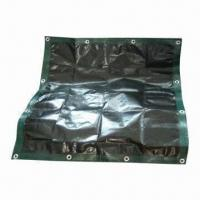 Buy cheap PE Tarpaulin, Various Colors are Available from wholesalers