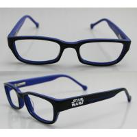 Buy cheap Blue Childrens Hand Made Acetate Glasses Frames For Reading Glasses product