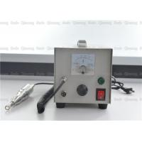Buy cheap 100W Handheld Ultrasonic Textile Cutting Machine For Fabric Edge Banding 155*265*170mm product