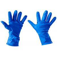 Buy cheap No Allergies Disposable Medical Gloves Strong Versatility Length  tear resistance from wholesalers