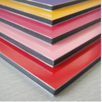 Buy cheap Exterior Wall Facade Material PVDF Aluminum Composite Panel ACP from wholesalers