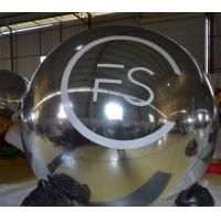 Buy cheap Big Commerical Inflatable Mirror Ball / Plastic Spheres with Customized Logo Printing from wholesalers