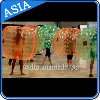 Buy cheap 0.8mm PVC / TPU Colorful 1.5m Body Zorb Inflatable For Commercial from wholesalers
