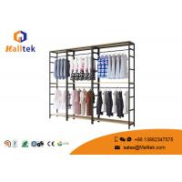 Buy cheap Customized Clothing Garment Rack Commercial Grade Retail Store Garment Racks from wholesalers
