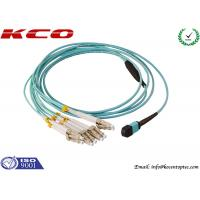 Buy cheap Single Mode MPO MTP Patch Cord 8 Cores LC 10G OM3 Patch Cord from wholesalers