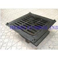 Buy cheap ductile iron custom manhole cover grate from wholesalers
