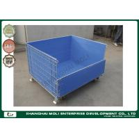 Buy cheap Industrial multipurpose Large metal Wire Storage Containers , wire mesh box from wholesalers
