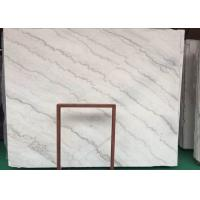 Quality Natural GX White Marble Stone Slab House Wall Cladding Decoration Use for sale