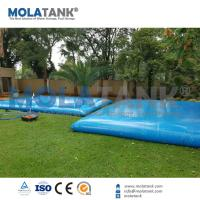 Buy cheap Mola 20,000L PVC Pool Solutions Water Storage Tank/ Water Storage Bladder from wholesalers