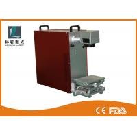 Buy cheap Handheld Laser Engraving Machine , Industrial Laser Marker With Rotary Device from wholesalers