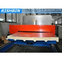 Buy cheap Flat PU Sandwich Panel Machinery with GI or Aluminum Sheets in UAE , Dubai from wholesalers