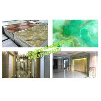 Buy cheap Low cost, easy installation PVC marble wall panel extrusion and laminating production line from wholesalers