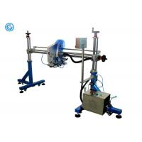 Buy cheap Gantry One Heads Automated Label Applicator For Cardboard Box / Production Line product