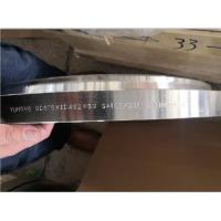 Buy cheap F321 Material Grade Steel Flanges ASME SA182 PLFF Type Smooth Finish Surface from wholesalers