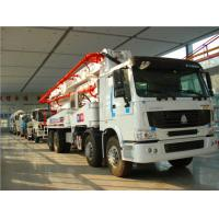 Buy cheap Sinotruk Howo 8x4 Concrete Pump Truck Euro 2 With 5000mm Wheelbase from wholesalers
