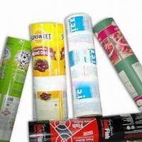 Buy cheap Various Packaging Film in Rollstock, Suitable for VFFS/HFFS line, with AL Foil, Antistatic Feature from wholesalers