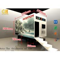 Buy cheap 7D 8D Mobile Movie Theater Machine Theme Park VR Truck Mobile Equipment product