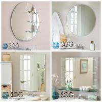 Buy cheap Clear silver mirror factory transparent bathroom mirror 4mm 5mm 6mm from wholesalers