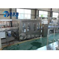 Buy cheap High Speed Beverage Filling Machine With Air Conveyor Connect 4000BPH from wholesalers