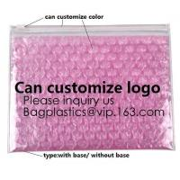 Buy cheap New Design Pvc Ziplock Epe Foam Heart-Shaped Bubble Bag For Cosmetic/Pink Plastic Bubble Bag With Zipper bagease package from wholesalers