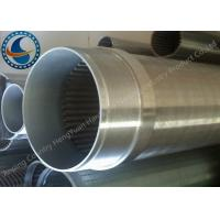 Buy cheap Water Treatment Stainless Steel 304 Well Screen , Wedge Wire Screen Cylinders product