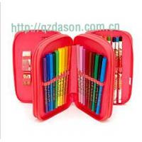 Buy cheap Triple Filled Pencil Case from wholesalers