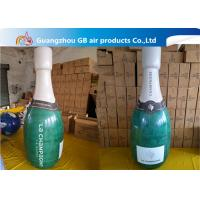 Quality Promotional Pvc Inflatable Champagne Bottle / Inflatable Beer Bottle For Sale for sale