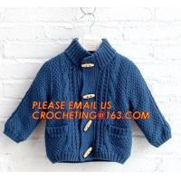 Buy cheap New arrival british style warm childrens coat thick boys sweater, Fashionable Winter Coats Woolen Sweater Designs For Ki from wholesalers