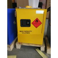 Buy cheap 12 GAL Vented Chemical Storage Cabinets With Double Layer For Flammable Goods from wholesalers