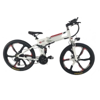 Buy cheap Powerful Hidden Battery 250w 26 Inch Folding Electric Bike from wholesalers