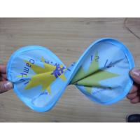 Buy cheap Pop up pocket foldable nylon promotional gift custom frisbee product