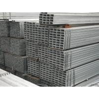 Buy cheap Hollow EFW Galvanized Steel Square Pipe , ASTM / BS Q195 Steel Pipe from wholesalers