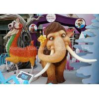 Buy cheap Play Ground Life Size Fiberglass Statues , Fiberglass Elephant Sculpture OEM / ODM from wholesalers