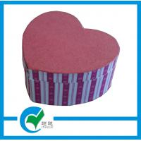 Buy cheap Personalized  Handmade Heart Shaped Gift Cardboard Jewellery Boxes from wholesalers