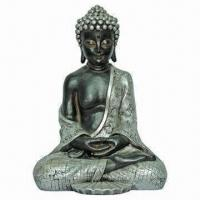 Buy cheap Polyresin Sitting Buddha Statue, Various Styles and Customized Designs are Available from wholesalers