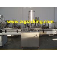 Buy cheap Fully Automatic Glass Bottle Aluminium Screw Cap Capping Machine/ROPP Capping Machinery from wholesalers