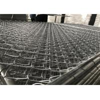 Buy cheap 8'x12' chain link fence panels 1⅝(42mm) chain mesh 50mm x 50mm diameter 11.5ga/2.75mm hot dipped galvanized 366gram/sqm from wholesalers