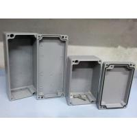 Buy cheap China Custom Die Casting Aluminum Enclosures Waterproof Boxes Factory for Electronic Amplifier Housing from wholesalers