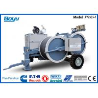 Buy cheap Corresponding 2 x 30KN Overhead Line Equipment Hydraulic Wire Cable Tension Machine from wholesalers